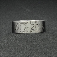 Duck Band Mens Brushed Aniun The Best Part About Bands Is Personalization Of Each And Every Piece